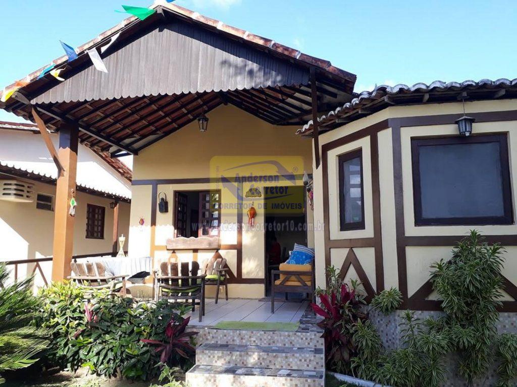 Vendo Casa Com Excelente Preço – Em Condomínio Com Boa Estrutura Para Lazer De R$ 180 Mil Agora por Apenas R$ 160 Mil