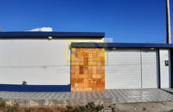 Casa Moderna Em Loteamento – Aceitamos Financiamento Bancário