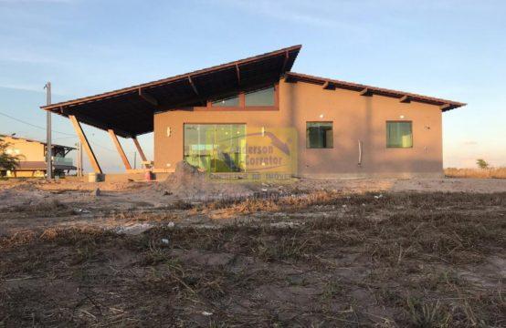 Vendo – Casa Com 106 m² de Área Construída No Condomínio Residencial Appaloosa