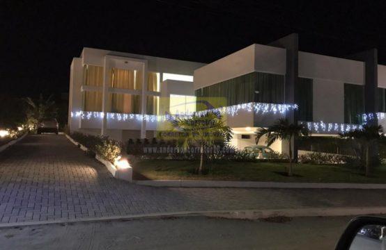 Linda Mansão Com Arquitetura Moderna No Condomínio Raiz Da Serra