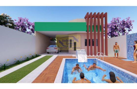 Vendo – Linda Casa Projetada