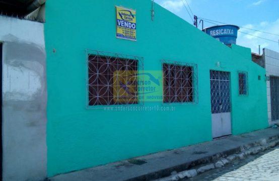 Casa Com Rua Calçada No Bairro Prado de R$ 160 Mil Agora Por Apenas R$ 115 Mil